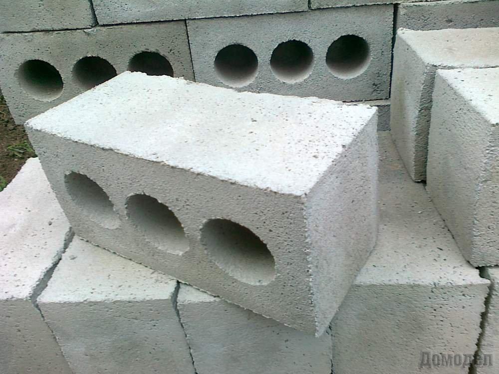Блоки бетонные для стен